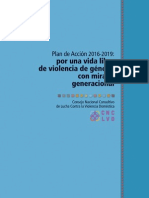Plan de Acción Violencia Domestica