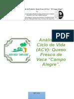 Analisis de Ciclo de Vida de Queso.