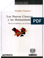Pablo gonzalez casanova - Las Nuevas Ciencias y Las Humanidades (1).pdf