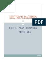 Unit 4 - Asynchronous Machines