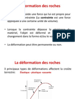 La Déformation Des Roches GEO1