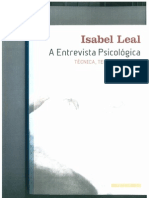 Isabel Leal A Entrevista Psicol+¦gica Pag-¬ 1 a 70