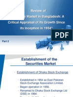 Article Review of Securities Market in Bangladesh Part 2