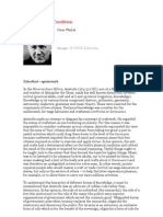 The postmedia condition (a condição pós-mídia), Peter Weibel