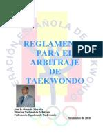 Arbitraje Taekwondo