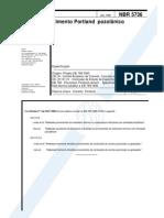 NBR 5736 - Cimento Portland Pozolanico