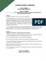 Reglamento Quejas y Denuncias Peo 2016-1