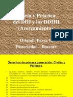 DDHH Teoría y Práctica Municipios Eje Cafetero