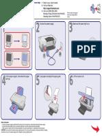 Montaje de impresora x1100