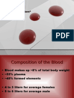 The Blood - Physiology Detailed