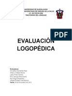 Reporte Logopedico Universidad de Guadalajara