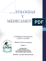 Patologias y sus medicamentos