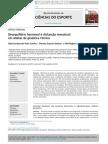 Desequilíbrio Hormonal e Disfunção Menstrual Em Atletas de Ginastica Rítmica