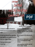 Lac Brulé 2015 Ski Tour Race Invitation