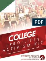 2015 College Activism Kit