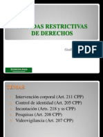 Medidas Restrictivas de Derechos