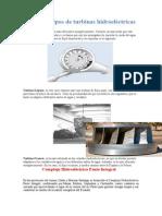 Diferentes Tipos de Turbinas