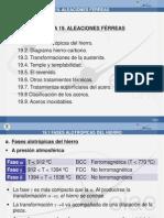 19. Aleaciones Férreas (I)