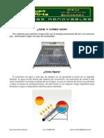 Ficha Tecnica Calentador Solar