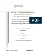 Formato Informe Tecnico Ejemplo De analisis de un edificio en etabs