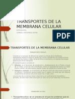 Transportes de La Membrana Celular