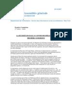 Nations  Unis_La sécurité spatiale_AG DSI 3349
