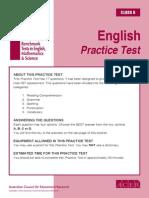 IBT Sample Paper Grade 6 English
