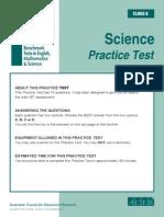 IBT Sample Paper Grade 6 Science