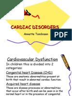 Cardiac Disorders PEDS