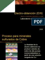 Electro Obtencion (EW)
