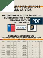 2011 Presentac. Programa Hpv
