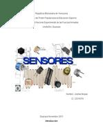 Trabajo de Sensores