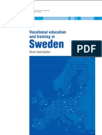 Vocational education and training in Sweden