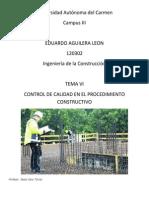 CONTROL DE CALIDAD EN CONSTRUCCION