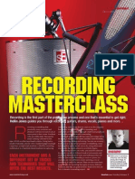 Music Tech Focus - Recording Masterclass