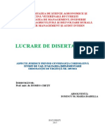 Disertatie Guvernanta Corporativa Final