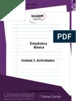 Actividades de Aprendizaje U3