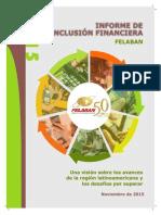 Felaban Informe de Inclusión Financiera 2015