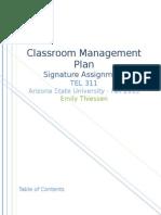 full signature assignment for tel 311