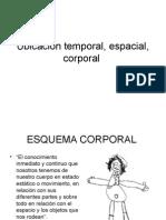 Ubicacion Temporal Corporal Espacial