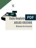 Manual de Usuario CR2300