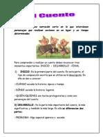 elcuento_Guía de Lenguaje, El cuento 2º - 3° - 4° BÁSICO