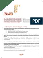 Los Planes y Fondos de Empleo en España