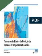 Básico Pressão Temperatura Mecânica