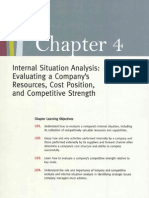 Chapter 4 Internal ... Competitive Stregth