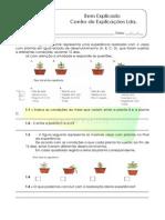 2.3 - Diversidade Das Plantas - As Plantas e o Meio - Ficha de Trabalho (1)