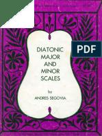 (Spartiti) Segovia - Scale Per Chitarra Classica