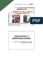 Modulo VII - Liquidación de Obras (Parte II)