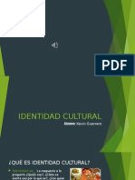 Identidad Cultural.