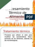 Procesamiento Térmico - Maestria Ciencias Agroalimentarias